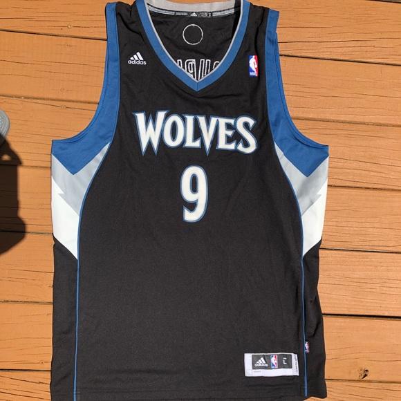Minnesota Timberwolves Ricky Rubio Jersey. NWT. adidas 2c4f0a464